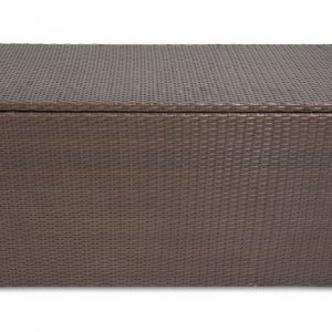 Luxury Storage Box Brown Mix Rattan