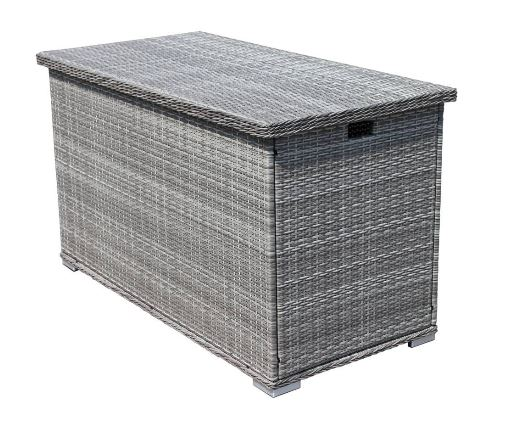 Luxury Storage Box Grey Mix Rattan Rattanfurniture2go