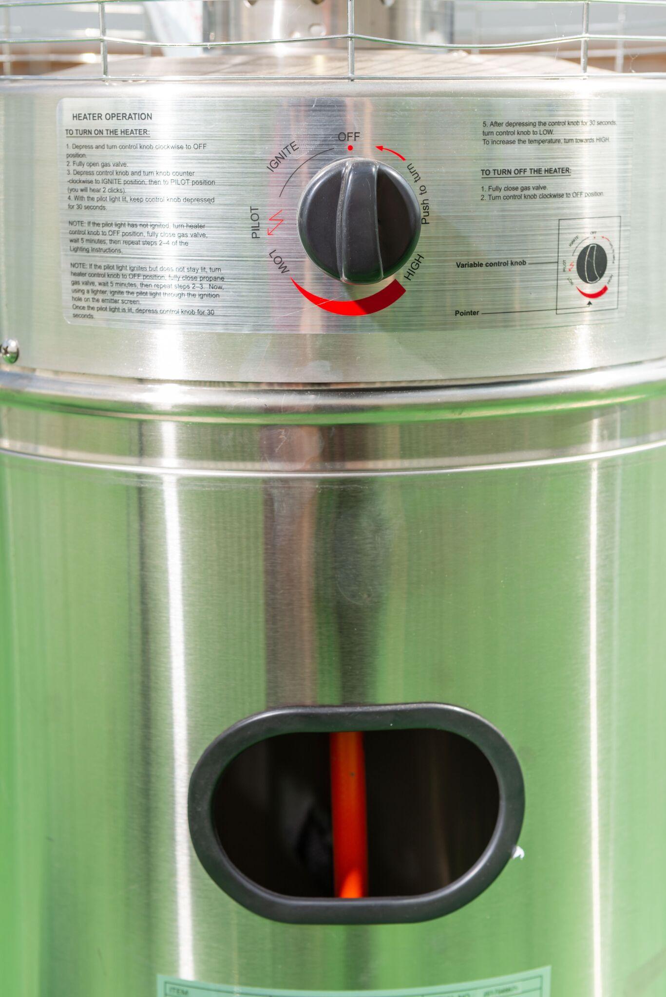 Quartz Gas Patio Heater Rattanfurniture2go