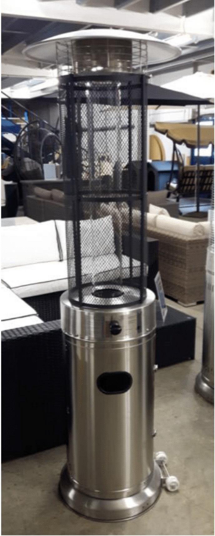 Quartz Gas Patio Heater Rattanfurniture2go