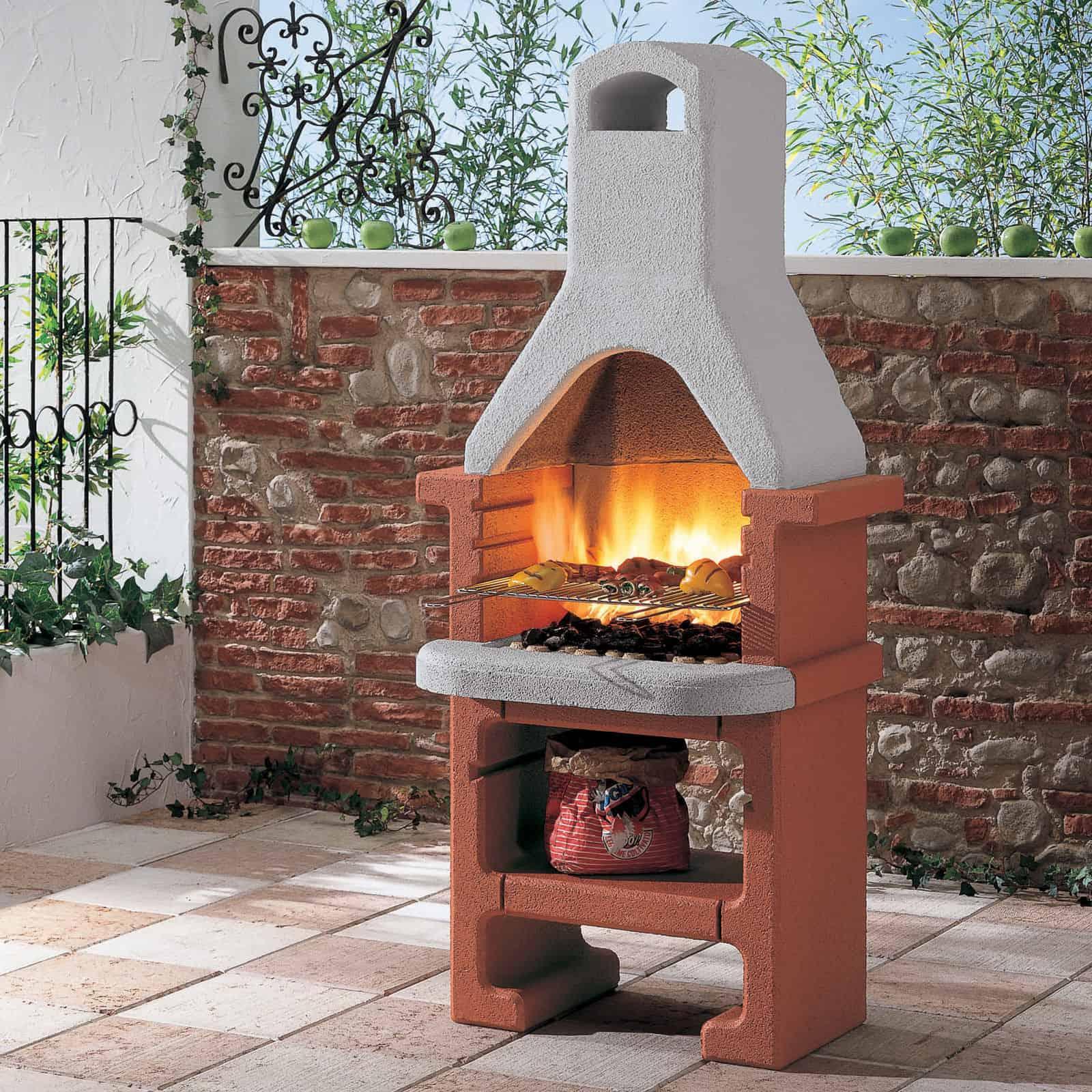 corea masonry barbecue by palazzetti rattanfurniture2go